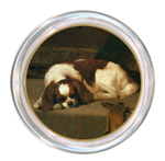 Dog Breed Glass Coasters