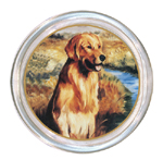 C146-Golden Retriever by Lake Coaster