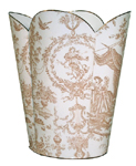 Toile Wastepaper Baskets