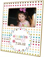Custom Birthday Invitation Frame