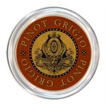 C2883 - Pinot Grigio Wine Coaster Red