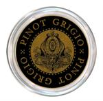 C2884 - Pinot Grigio Wine Coaster Black
