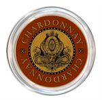 C2887 - Chardonnay Wine Coaster Red