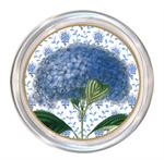 C396-Blue Hydrangea on Provencial Print Coaster