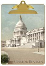 CB2592-The Capitol Washington D.C. Personalized Clipboard