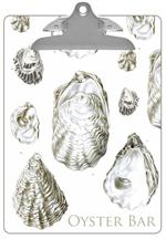 CB2708-Antique Oyster Shells Clipboard