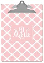 CB2865 - Pink Chelsea Grande Personalized Clipboard