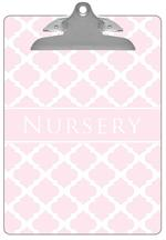 CB2989 - Light Pink Chelsea Grande Personalized Clipboard