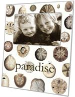 F1403-Sand Dollars Personalized Picture  Frame