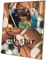 F1515- All Sports Personalized Picture Frame