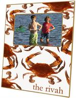 F1518-Cooked Crabs Picture Frame