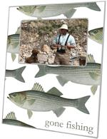 F1519- Striped Bass Picture Frame