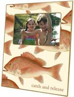 F1520-Red Snapper Personalized Picture Frame