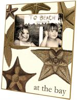 F1530-Large Starfish  Picture Frame