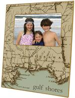 F1581-Alabama Coast Picture Frame