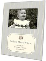 F1641 - Avery Grey Birth Announcement Picture Frame