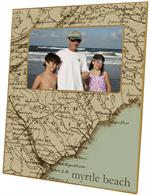 F1708-South Carolina Coast Picture Frame