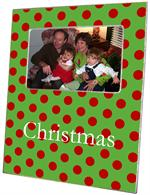 F1712- Christmas Big Dot Picture Frame