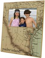 F1717- South Texas Coast Picture Frame