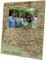 F1718- Louisiana Coast Picture Frame