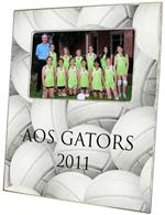 F1720- Volleyball Personalized Picture Frame