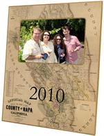 F1770-Napa County Antique Map Picture Frame