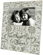 F1777-Pewter Damask Picture Frame
