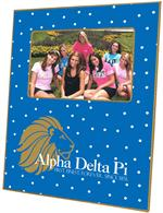 F2104 - Alpha Delta Pi Sorority Picture Frame Tiny Dot
