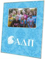F2110 - Alpha Delta Pi Sorority Picture Frame Robins Egg