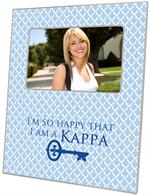 F2298 - Kappa Kappa Gamma Picture Frame I'm so happy I am a kappa on Ava