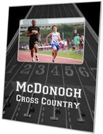 F2490 - Black Cross Country Picture Frame
