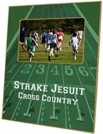 F2491 - Green Cross Country Picture Frame