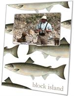 F2720-Salmon Personalized Picture Frame