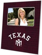 F3905-Texas A&M Picture Frame Arched Burgundy Crock