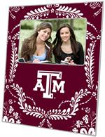F3908-Texas A&M Picture Frame  Burgundy Provencial