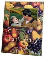 Thanksgiving Personalized Picture Frames
