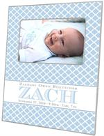 F8445 Baby Boy Gift Personalized Picture Frame