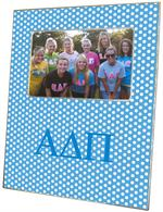 F959 - Alpha Delta Pi Sorority Picture Frame Polka Dots