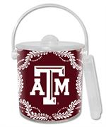 IB3908-Texas A&M Ice Bucket  Burgundy Provencial