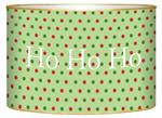 L1238 Christmas Dots Letter Box
