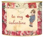 L1415-Antique Valentine Letter Box
