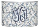 L658 - Wedgewood Blue Floral Letter Box