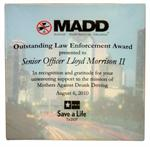 MADD Recogntion Award