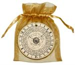 O2841 - Vintage Astronomical Clock Ornament