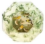 Birds & Roosters Decoupage Glass Trays & Plates
