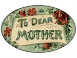 PW2683- To Dear Mother Aqua Paperweight
