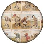 PW11-Antique Golfers Paperweight