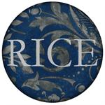 PW1272-Blue and Grey Damask  Personalized Paperweight