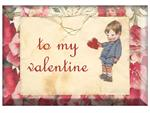 PW1415 - To My Valentine Paperweight