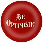 PW2537 - Be Optimistic Paperweight